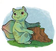 Bulbasaur by julv