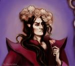 Melkor with ... a surprise from Yavanna by Meraclitus