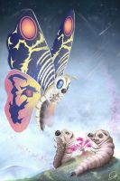 Pretty Mothra by gfan2332