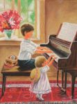 Kids on Piano by sDoost