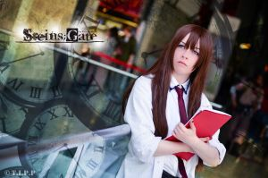 Makise Kurisu Cosplay by thechevaliere