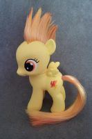 MLP: FiM - filly Spitfire - custom pony by hannaliten