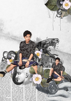chanyeol by kenefron