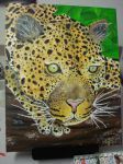 Leopard Painting by Lish-55