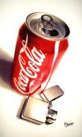 Zippo and Coke by Naterman