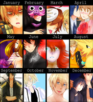 Art Summary 2016 by Reikiwie