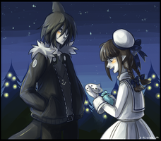 Wadanohara - The gift by D-Kitsune