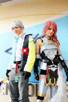 FFXIII-2 Hope and Lightning by jimmah93