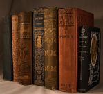 Antique Books 7 by DamselStock