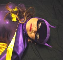 66 Batgirl Cosplay - Blacking out by ozbattlechick