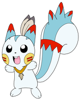 Pochuma the Pachirisu by Wanda92