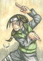 Neji Sketch Card by IsaiahBroussard