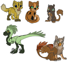 Adoptables~ by CenturiesForGlory