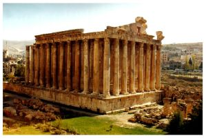 Small Temple, Baalbek, Lebanon by gky
