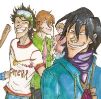 The Marauders-IN COPIC MARKERS by Alatariel-Amandil