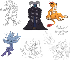 Monster request Results by Myra-Avalon