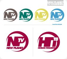 logo for new planet tv channel by sounddecor