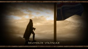 Islenskir Vikingar - Wallpaper by PlaysWithWolves