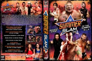 WWE SummerSlam 2014 DVD Cover V2 by Chirantha