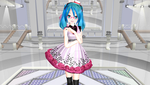 MMD Lat Spring Miku V2 Preview by Cyber-P