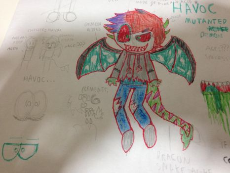 New oc-Dexter/havoc by elementals12