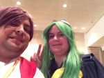 Anime Weekend Atlanta 2014-Meira and Mima Selfie by jay421501