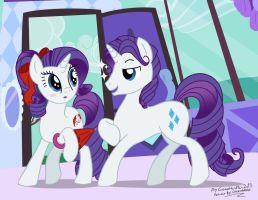 Request: OaCaA: Rarity meets Elusive by GonzaHerMeg