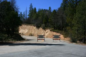 Parker Pass Road Closed by Dr-J-Zoidberg