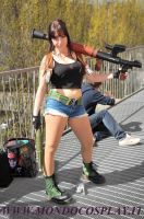 Revy with RPG by Ashura-dio