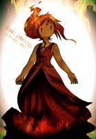 Flame Princess by alexhatsune