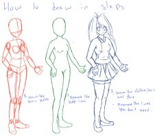 how to draw anime and manga in steps by nemrac01