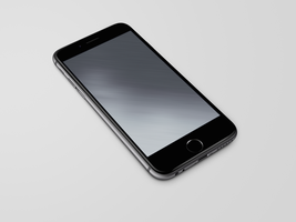 Space-Grey Diagonal Wallpaper for iPhone 6 and 6+ by kiwimanjaro