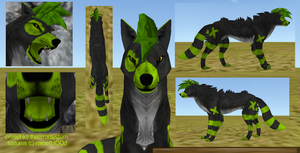 FeralHeart Preset Auction - Lime Stripes by TheErrorSystem