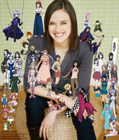 Brina Palencia character collage by EmSeeSquared