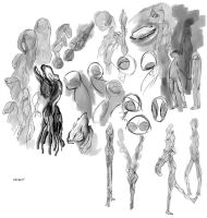 Sketches Weird by FablePaint