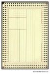 Old Punch Card - blank by Limaria-Stock
