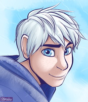 Jack Frost - Doodle by strawberryneko33