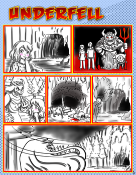 Comic Underfell proyecto by reina-del-caos