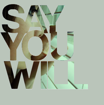 say you will. by angieeluhh