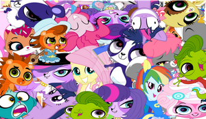 Pets and Ponies!!! by PepperclarkisFUNNAY