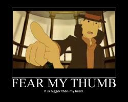 Professor Layton: thumb by Clive4everLegal