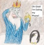 you just ate your phone you dumbwad by kingofthedededes73