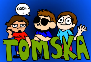 TOMSKA IS RAGING AT BEES by cagstoon