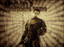 Wallpaper HL2 Grunge by MattColeville