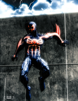 spiderman 2099 : second version by skullfrankie