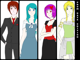 Comm :: Prom Costumes by vikifanatic