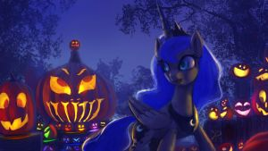 Nightmare-night-luna by Raikoh-illust
