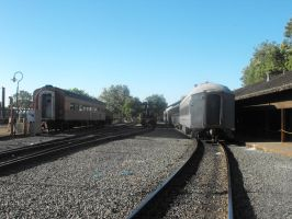 Stock: Railroad Tracks by Stock-By-Michelle