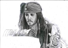 Jack Sparrow WIP by lizzib7292
