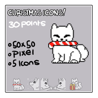 Christmas Icons by Yukiin